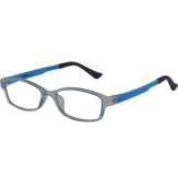 eye glass blue